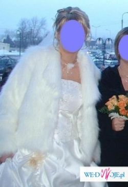 Futerko ślubne białe