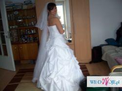 GALA Suknia ślubna rozmiar 36/38 wzrost 168 +obcas