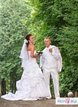 garnitur ślubny