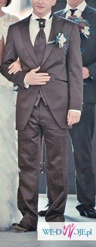 Garnitur weselny włoskiej firmy Arax Gazzo wzrost 174 cm