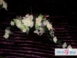 Girlanda z róż i daw bukiety różane