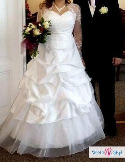 Gratis 4w1 Piękna Suknia Ślubna