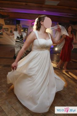 Grecka suknia ślubna roz. 44 46 48  (ciążowa) czerwiec 2010