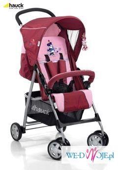 Hauck Disney Sport (Mini pink)-super lekka spacerówka