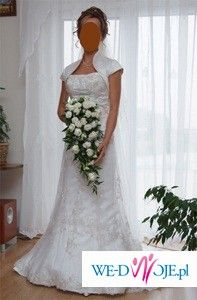Herm's Liametti - suknia ślubna dla drobnej księżniczki!!!