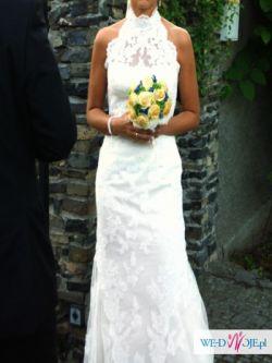 Hiszpańska cudna suknia White One 434