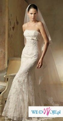Hiszpańska suknia LORNA marki PRONOVIAS 34/36