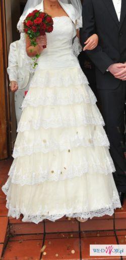 Hiszpańska suknia slubna