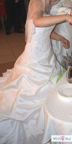 Hiszpańska suknia ślubna Atelier Diagonal-Roz. 38