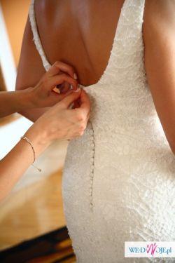 Hiszpańska suknia ślubna Higar Novias