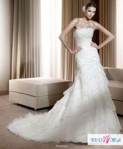 hiszpańska suknia ślubna kupiona w salonie Madonna w Warszawie