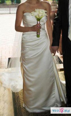 Hiszpańska suknia ślubna WHITE ONE 3004