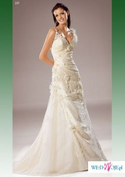 Hiszpańska suknia ślubna White One model 157