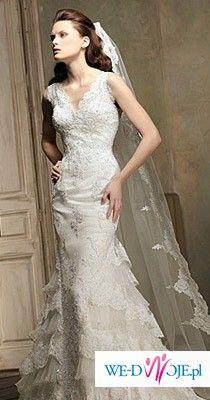 hiszpańska suknia ślubna z kolekcji ST. Patrick - Magdala.