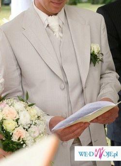 Hiszpański garnitur ślubny Sandro Sellini