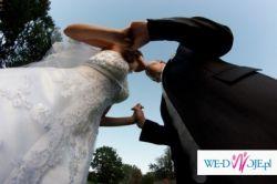 Hit!!Śliczna biała suknia ślubna