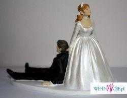 Humorystyczna figurka na tort