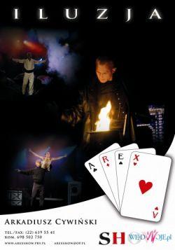 Iluzjonista,magik,pokaz magii, czarodziej, atrakcja na wesela,show