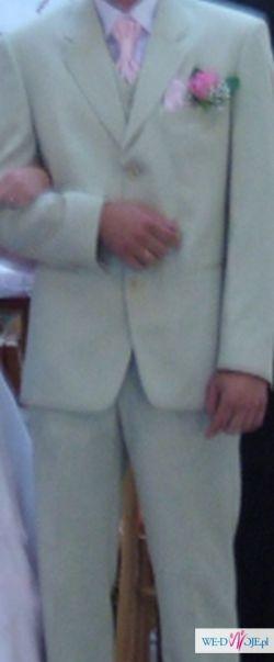 Jasny garnitur z dodatkami