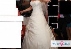 Jednoczęściowa suknia ślubna