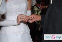 Jednoczęściowa Suknia Ślubna z trenem