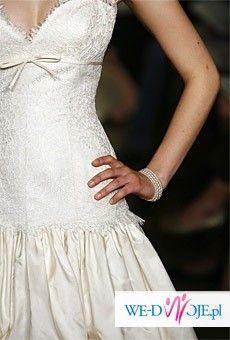 Jedyna w Polsce! Jedwabna suknia Jim Hjelm USA 2007