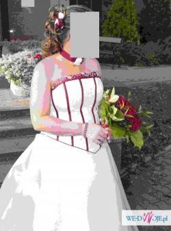 Jedyna w swoim rodzaju suknia Sincerity Bridal roz.42-44