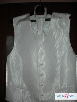 Kamizelka ślubna biala