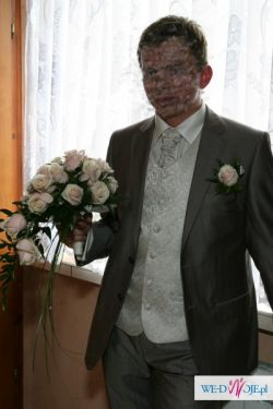 Kamizelka ślubna, firmy Diuk, M, kolor ivory