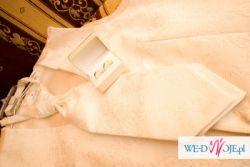 kamizelka ślubna + krawat