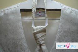 Kamizelka ślubna marki Sunset Suits + krawat r.L jak nowa
