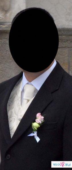 kamizelka ślubna roz 54