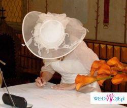 Kapelusz ślubny