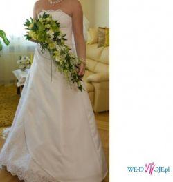 klasyczna elegancka suknia ślubna Julia Rosa