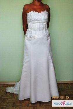Klasyczna sukienka ślubna