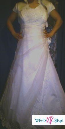 klasyczna sukienka ślubna za ... 250 zł!!!