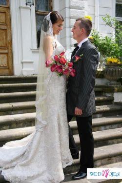 klasyczna suknia JUSTIN ALEXANDER 8347