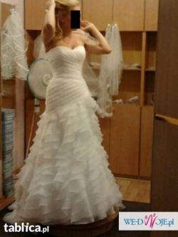 Kleinfeld piękna suknia ślubna - okazja