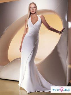 Kobieca suknia ślubna