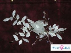 komplet ślubny biały