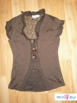 Koronkowa elegancka bluzka CUDO