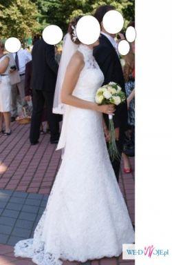 Koronkowa suknia Agnes 10225 PIĘKNA!!!