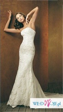 KOronkowa suknia - San Patrick