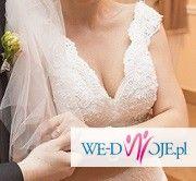 koronkowa suknia ślubna 36