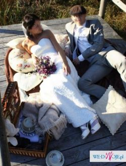 Koronkowa suknia ślubna Agnes rozm. 34
