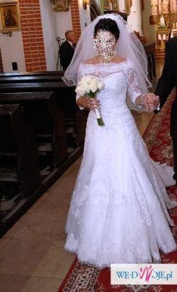 Koronkowa suknia ślubna Amy Love