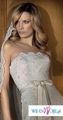 Koronkowa suknia ślubna Bahamas z kolekcji San Patrick