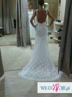 45302b7d54 Koronkowa suknia ślubna bez pleców - Suknie ślubne - Ogłoszenie ...