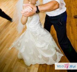 koronkowa suknia ślubna jak Madonna 34/36