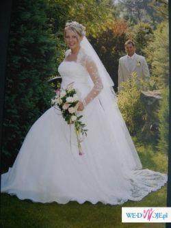 Koronkowa Suknia Ślubna jak z bajki